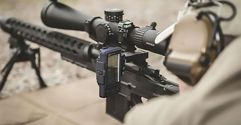 Kestrel HUD gun-mounted wireless ballistics head-up display