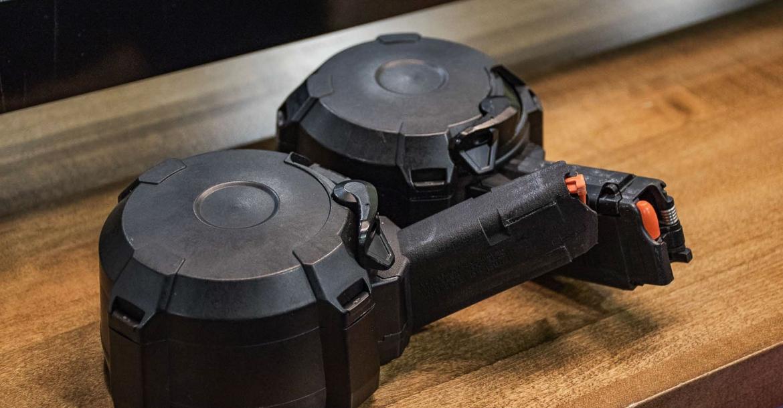 Magpul D-50 EV9 and D-50 GL9-PCC 9mm magazines