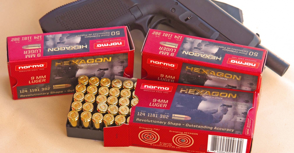 Norma HEXAGON high-performance competition ammunition