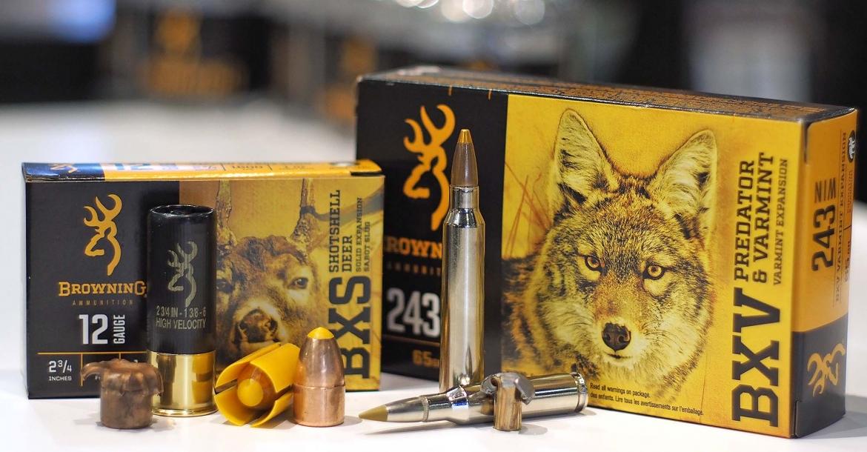 Nuove munizioni da caccia Browning