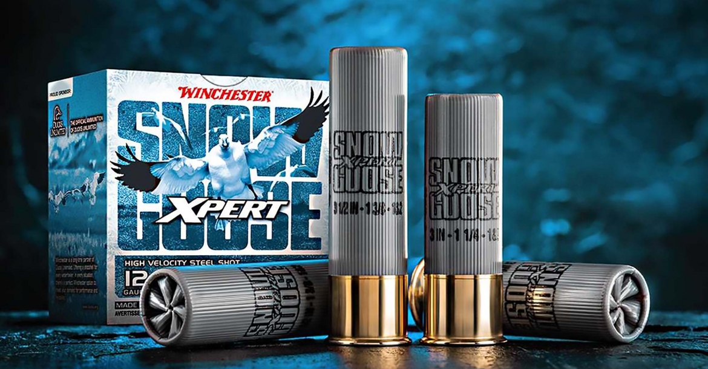 PRIO--- Cartucce da caccia Winchester Xpert Snow Goose calibro 12