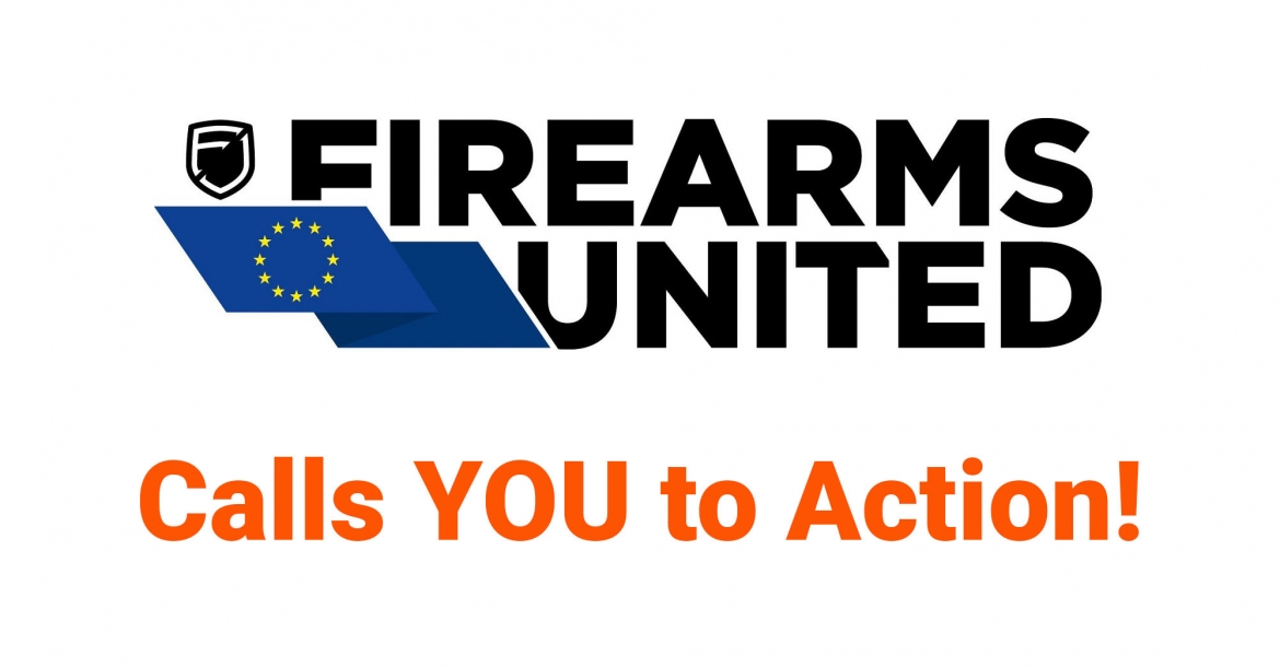 EU Gun Ban: a new call to action from Firearms United!