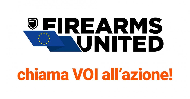 Firearms United chiama TUTTI all'azione!