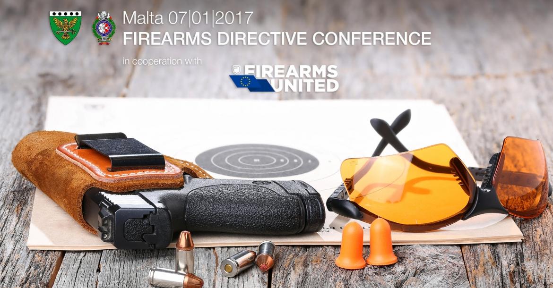 Firearms United: la conferenza a Malta