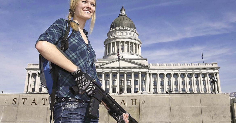 USA: the gun rights movement is non violent