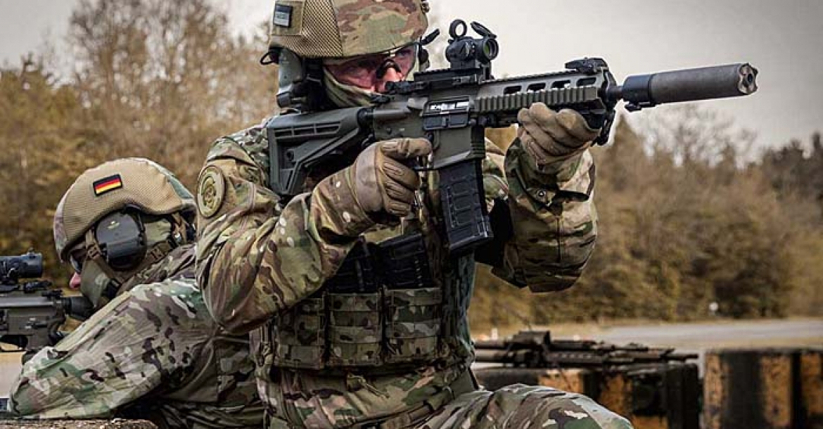Haenel MK 556 to replace the Heckler & Koch G36 in German service!