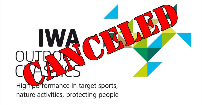 IWA 2021 is canceled