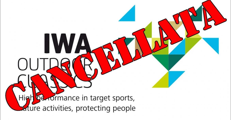 IWA 2021 cancellata!