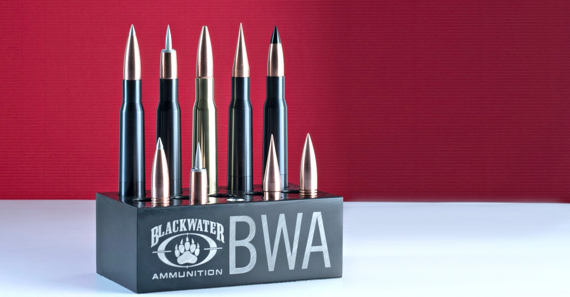 BLACKWATER AMMUNITION introduces the first hybrid, aerospace alloy .50 BMG case and ammo