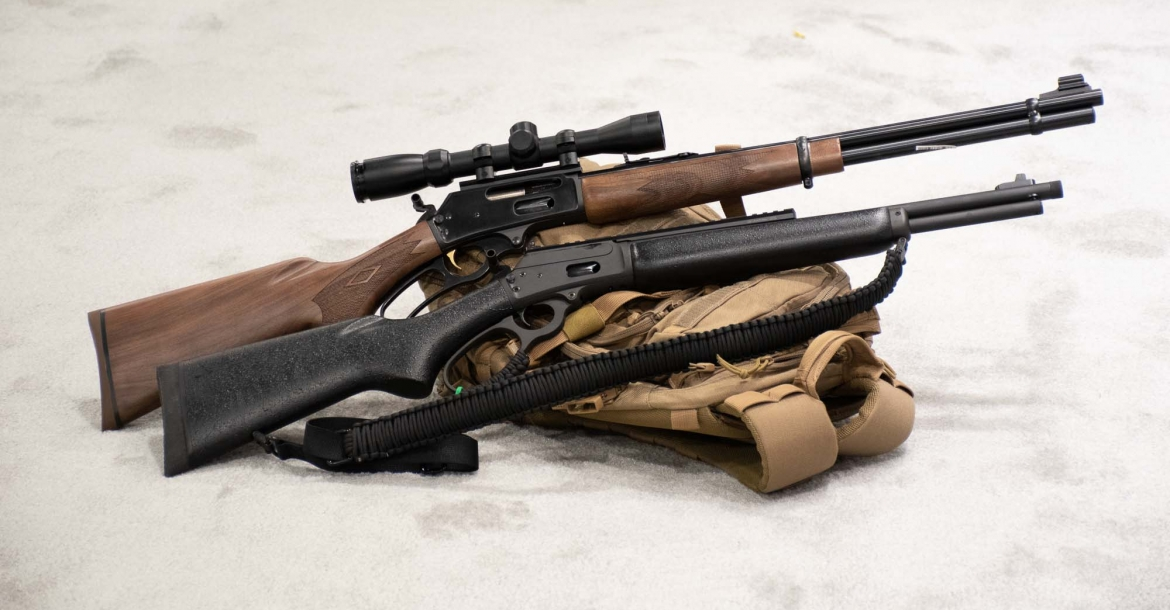 Marlin Dark Series and Model 1895 .410 lever-action rifles