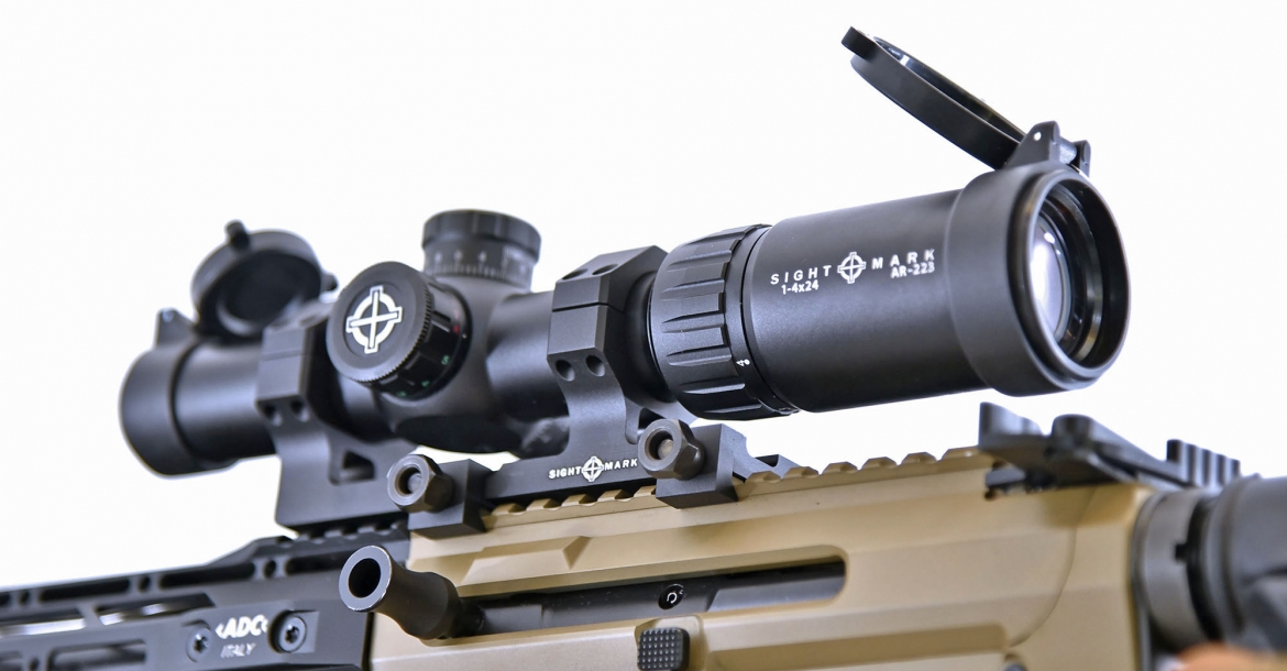 Sightmark Core TX 1-4x24 AR-223 BDC and Rapid AR 1-4x20 SHR-223 riflescopes