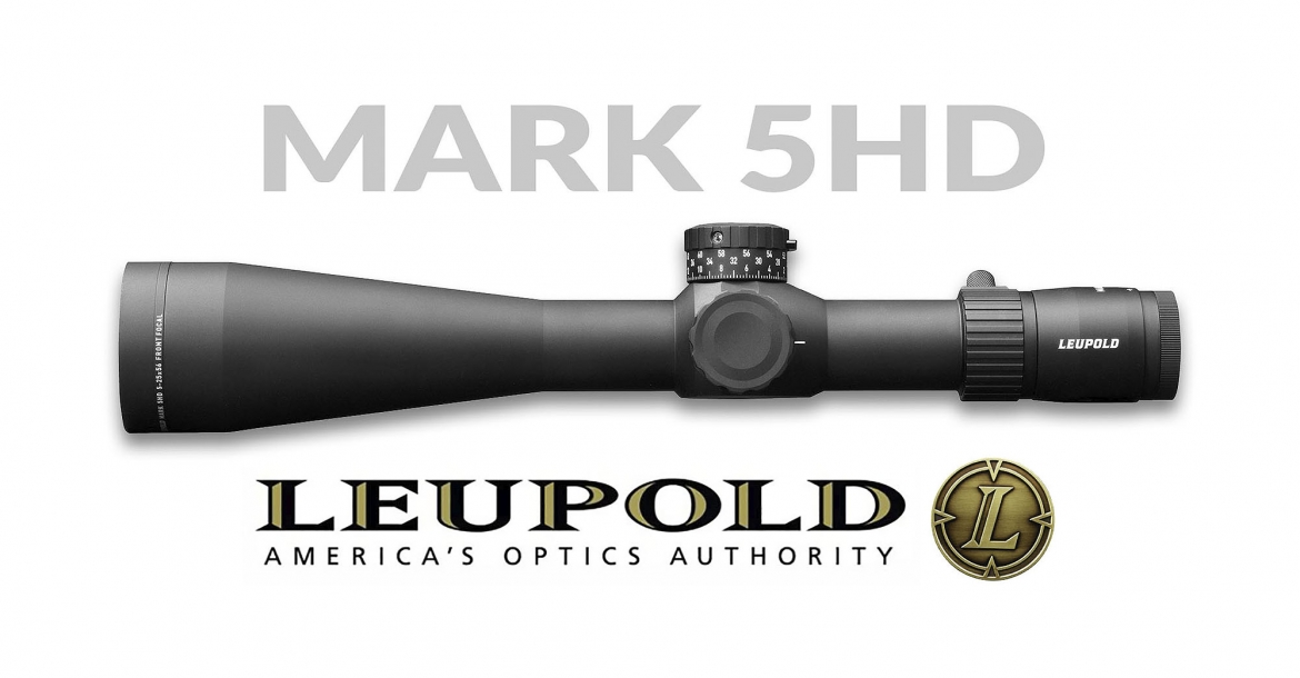 Nuovo cannocchiale Leupold Mark 5HD 7-35x56