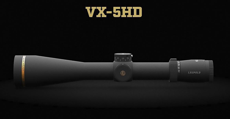Leupold VX-5HD, i nuovi cannocchiali per il 2021