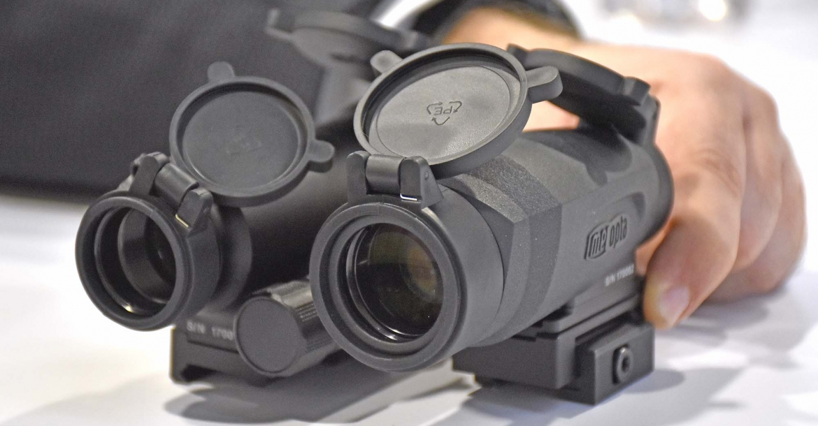 MEOPTA MeoRed T Reflex Sight and MeoMag magnifier