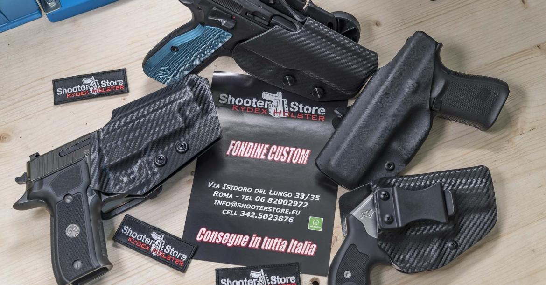 Armeria Shooter Store: le fondine Custom in Kydex