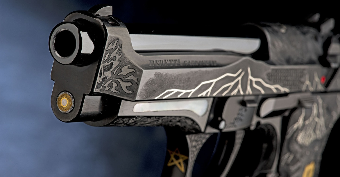 The 98FS Demon pistol marks the launch of the Beretta Premium Custom Pistols project