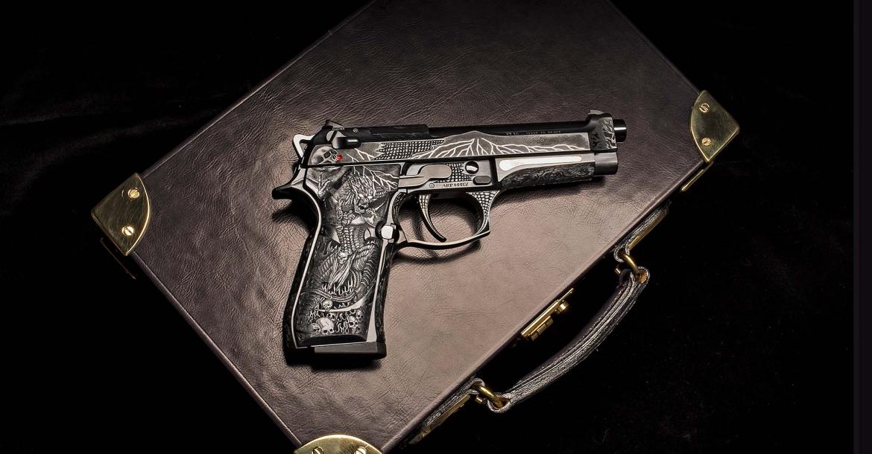 Beretta 98FS Demon: quando l'industria incontra l'arte