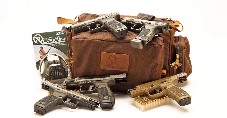 ESCLUSIVO! pistole striker Canik TP9, prime impressioni