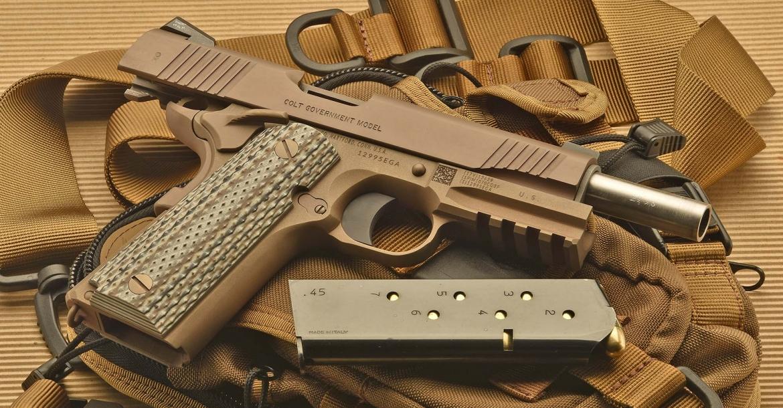 Colt M45a1 Cqbp The Marsoc Pistol Gunsweek Com