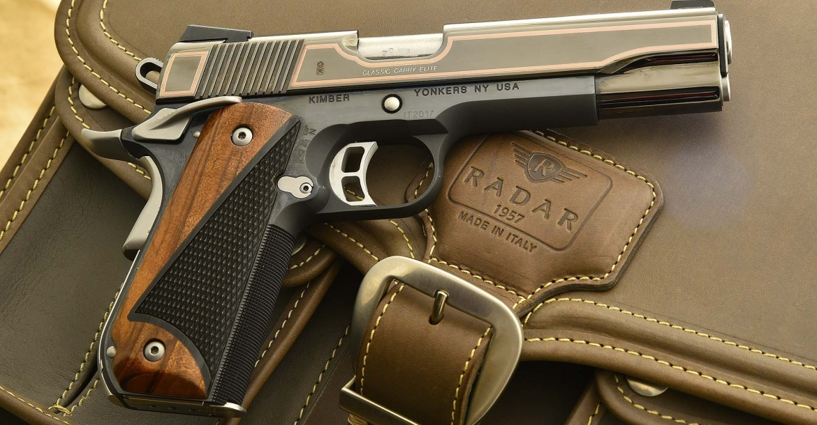 Kimber Classic Carry Elite: elegance, 1911 style