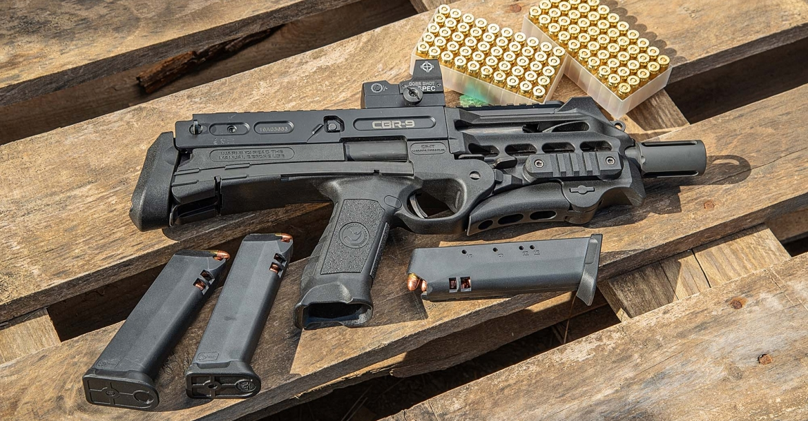 Chiappa Firearms CBR-9 Black Rhino, the new thing at IWA 2019