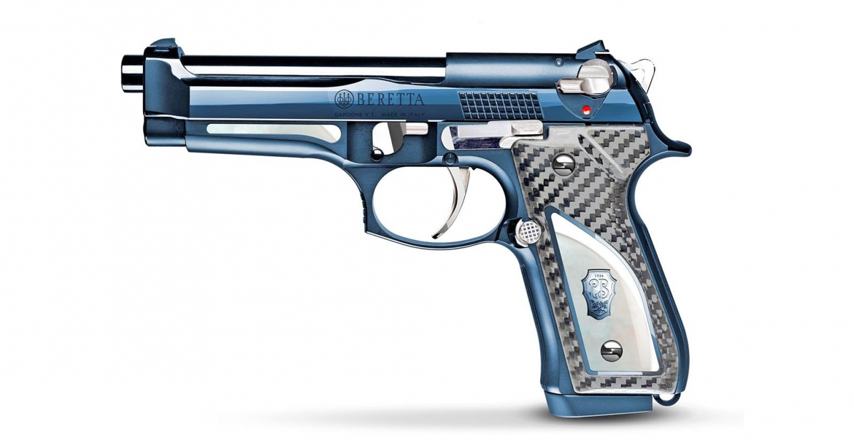 Beretta 98FS Fusion Blue: eleganza azzurra, in serie limitata