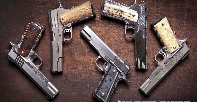 La Erredi Trading importa in Italia le bellissime derivate 1911 prodotte dalla Cabot Guns!