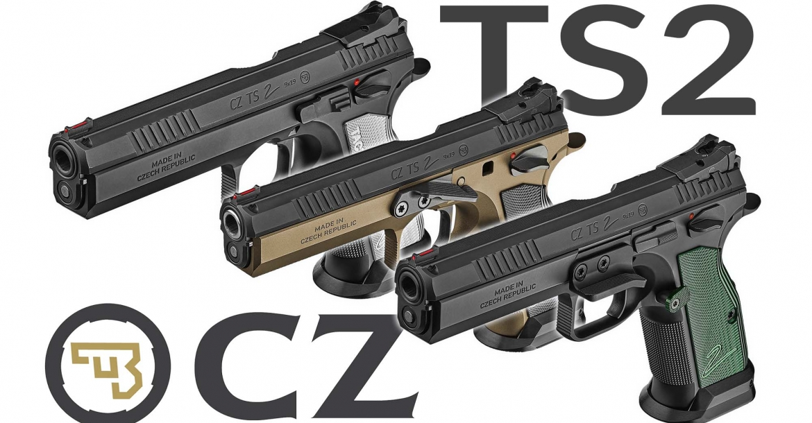 CZ TS2 pistol: a new generation in IPSC Standard Division
