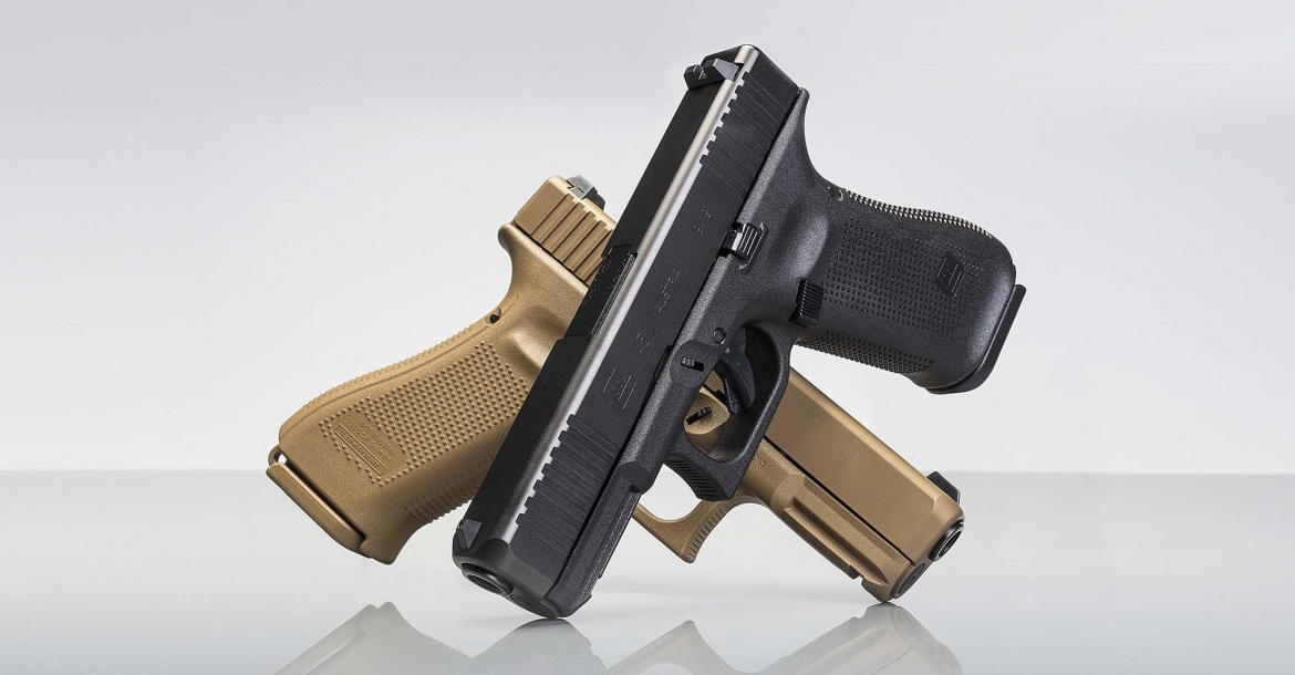 Glock introduces the new G45, G17 and G19 Gen5 MOS pistols