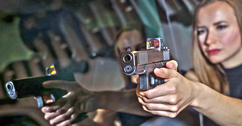 Glock .40 S&W Gen5 pistols