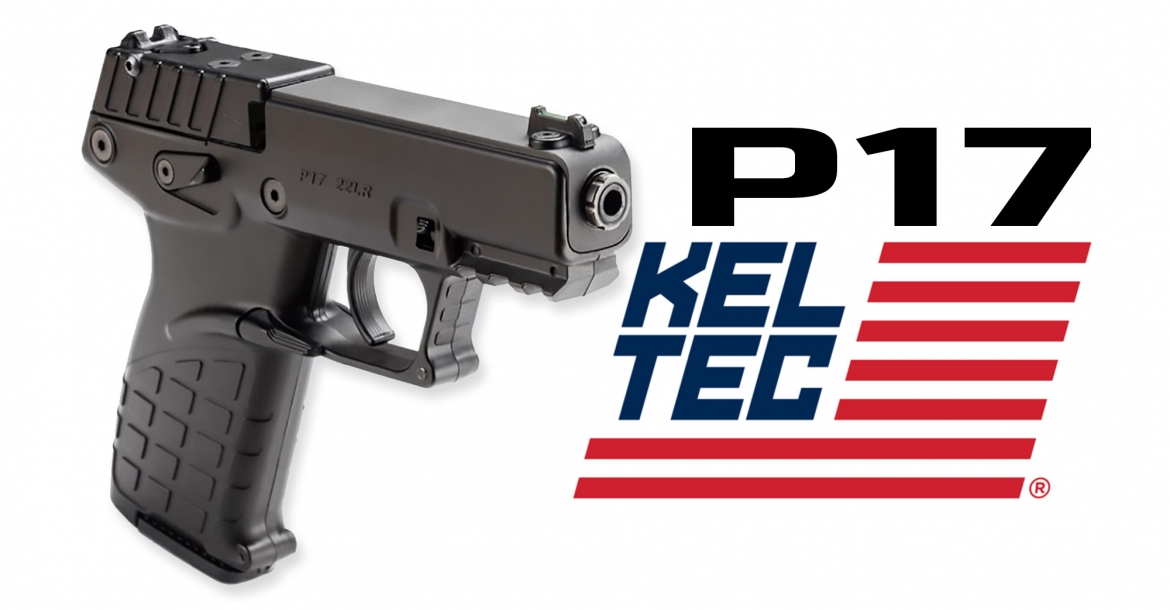 Kel-Tec P17, la nuova compatta in calibro .22 Long Rifle