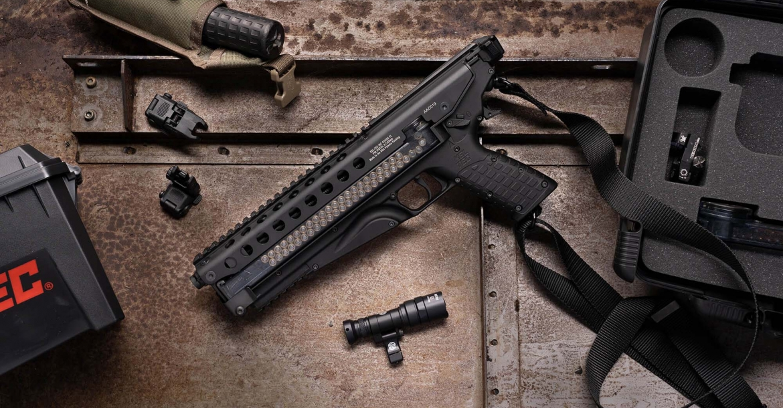 Kel-Tec P50: a new 5.7x28mm semi-automatic pistol