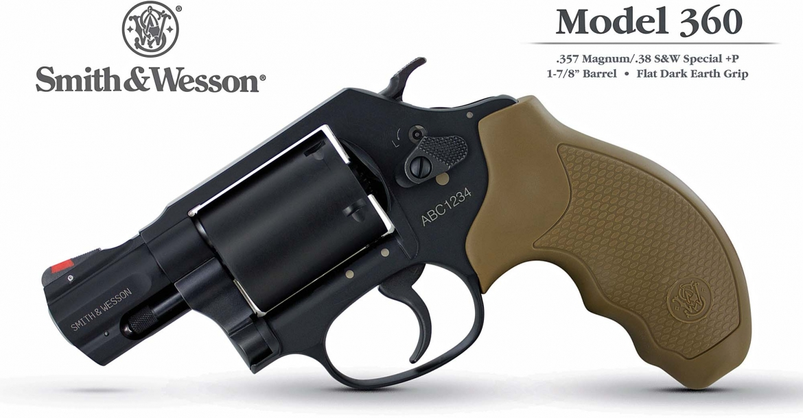 Smith & Wesson introduces the new Model 360 revolver