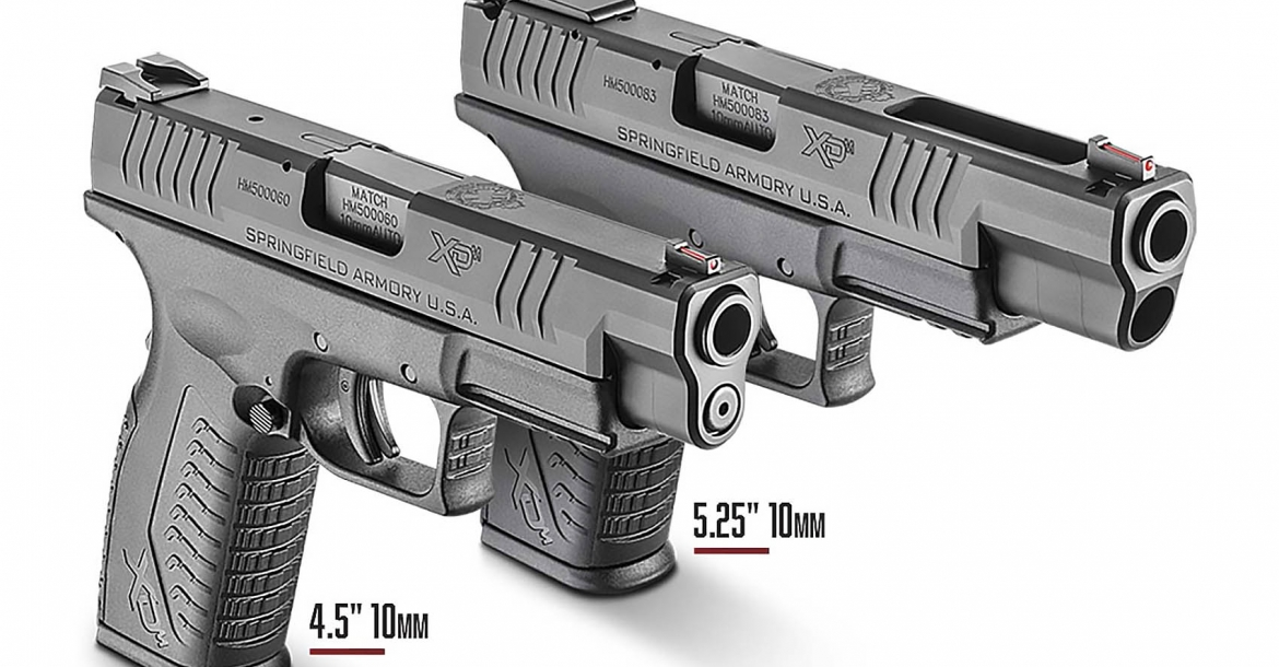 Springfield Armory introduces the XD(M) 10mm Auto pistols