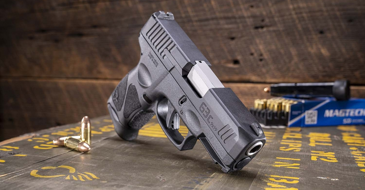 Taurus introduces the G3c Compact 9mm polymer pistol