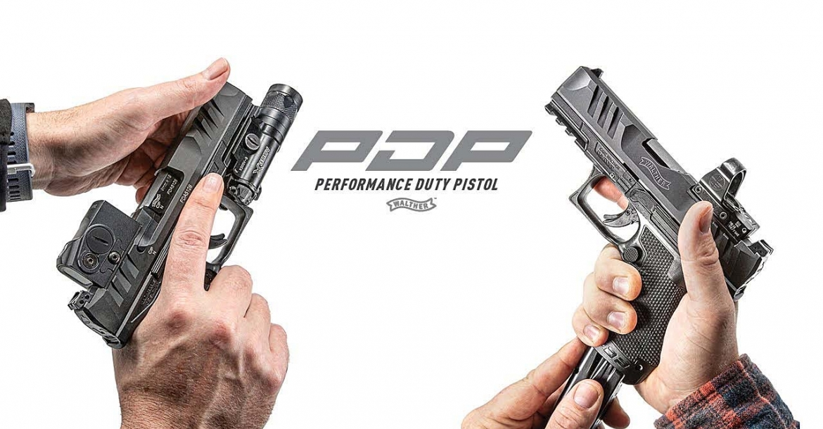 Walther introduces the PDP 9mm semi-automatic pistol