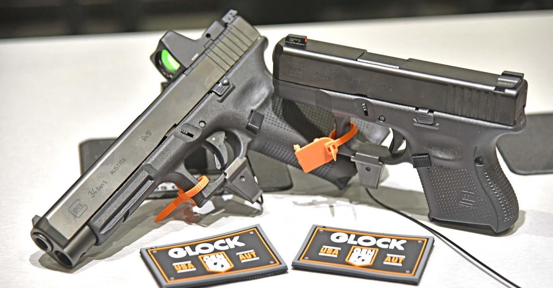 Glock 26 Gen5 and Glock 34 Gen5 MOS pistols