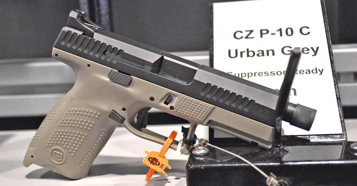 CZ P10C Urban Grey Suppressor Ready