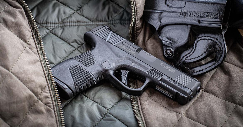 Pistola Mossberg MC2c: una nuova, sottilissima polimerica