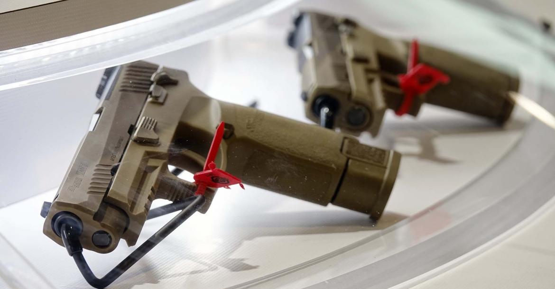 U.S. Army's new handgun