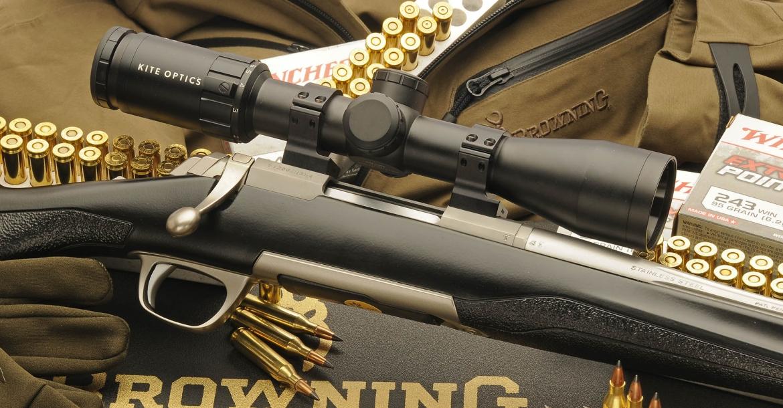Browning X-Bolt SF Adjustable Threaded rifle: hunting High-Tech