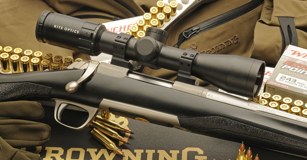 Browning X-Bolt SF Adjustable Threaded rifle: hunting High-Tech