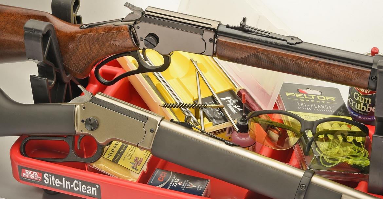 Chiappa Firearms LA322 rifles: the total fun take-down lever guns