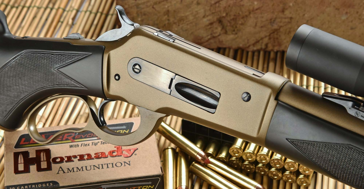 Pedersoli Boarbuster Mark II: the modern lever-action rifle