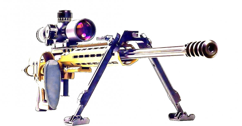 Ritter & Stark SX-1 MTR modular long-range rifle