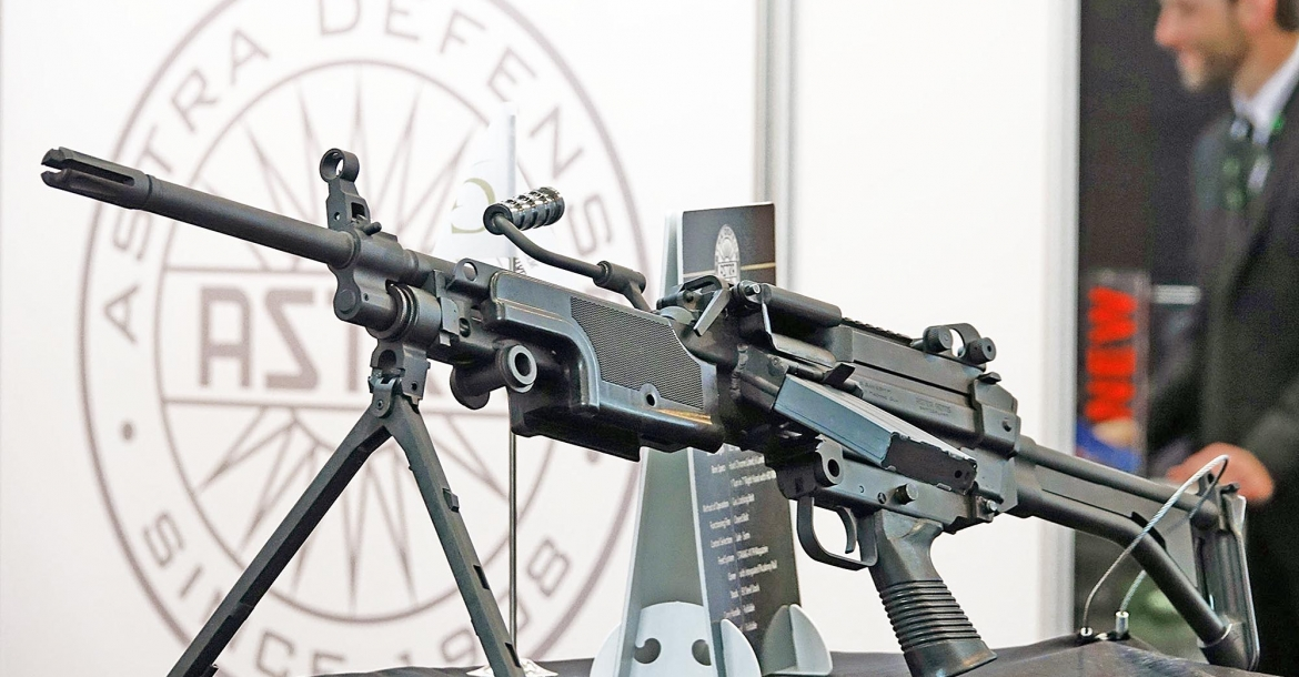 Astra Defense MG556: la Minimi civile