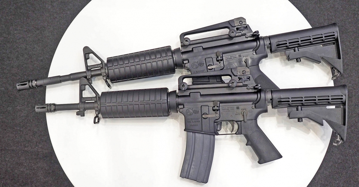 M4 Commando: Colt's new sporting carbines, distributed by Prima Armi