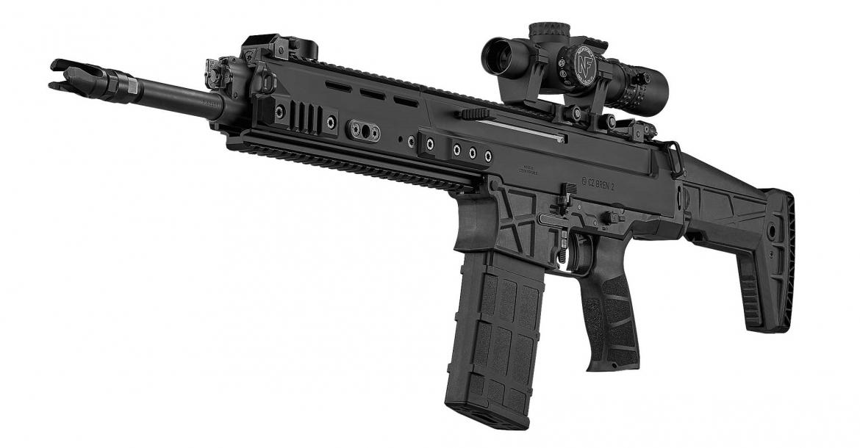 CZ BREN 2 BR: arriva il nuovo fucile da battaglia ceco