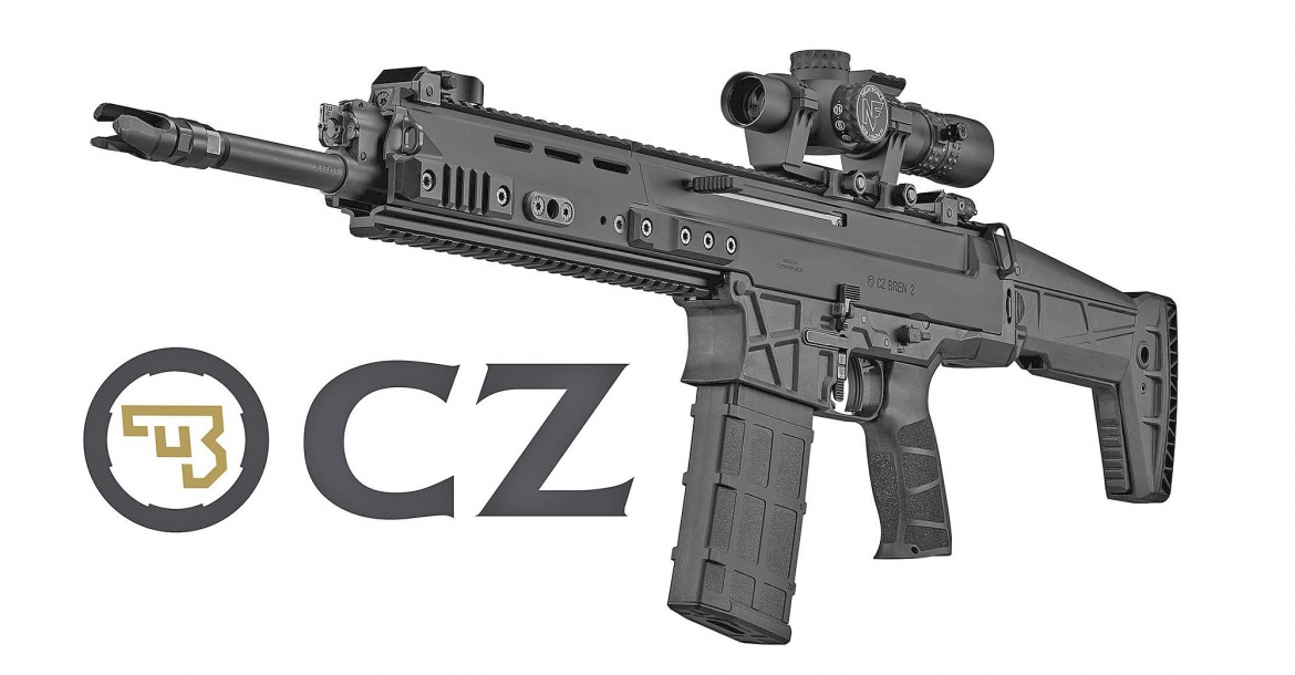 CZ introduces the BREN 2 BR battle rifle
