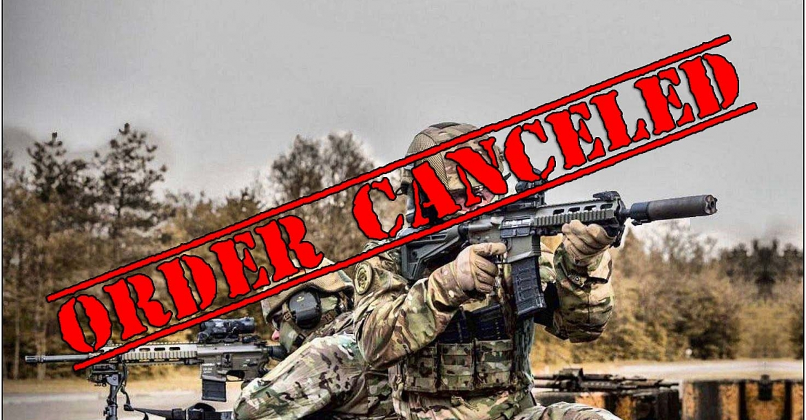 Haenel MK 556 order canceled by German Ministry of Defense!